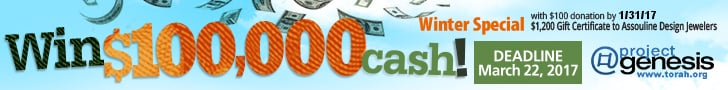 Win $100,000 in the Project Genesis Raffle!