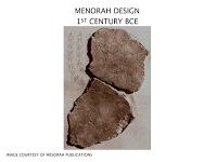 menorah fragments